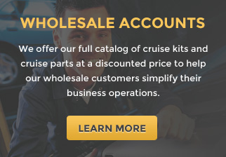 wholesale accounts for Cruise Control Store customers